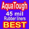 AquaTough Pond Liner with J-Tear Protection