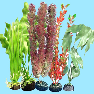 Aquarium Plastic Decorative Plants - Free Shipping