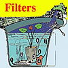 Pool Filters, Skimmers, Filter Material, Waterfalls, Pond Vacuum