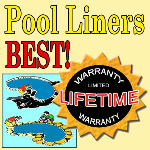 Flexible Rubber (EPDM) Pool Liners and Underlayment