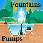Pumps, Fountains, Lighting, Statues, Tubing, Foggers