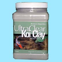 Ultra Clear Koi Clay also for Goldfish