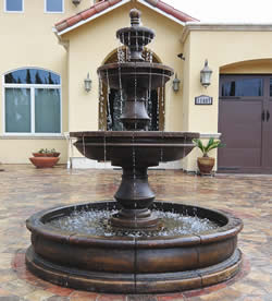 Fountains with Ground Pools