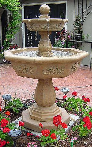 Tiered Water Fountains