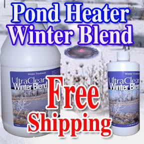 Pond Heater and Winter Blend - Free Shipping