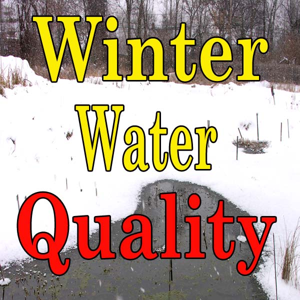 Maintaining Water Quality in Winter