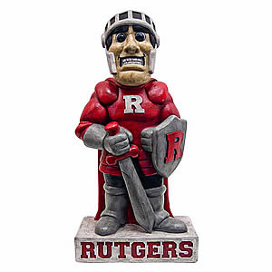 "Rutgers ""Scarlet Knight"" College Mascot"