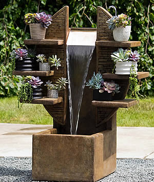 Rainforest Wall Fountain