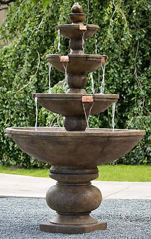 Buckingham 4-Tier Fountain