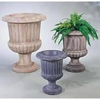 Fluted Urn, medium
