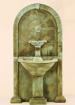 Amalfi Wall Fountain For Spout