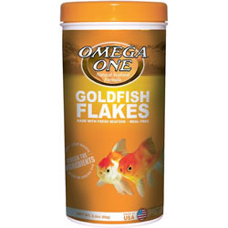 Omega One Goldfish Flake