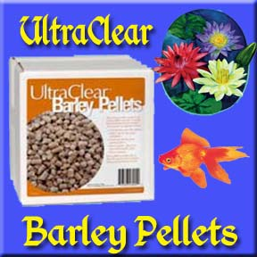 Ultra Clear Barley Straw Pellets - BEST Biological