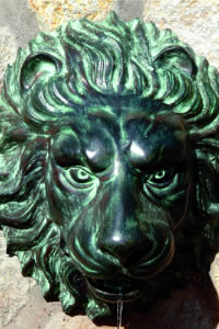 Lion Head Wall Spitter