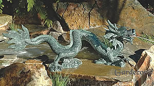 Creeping Dragon Fountain