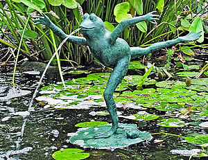 Leaping Frog Water Spitter