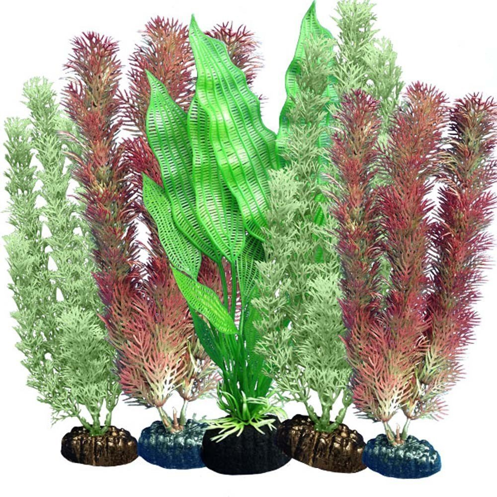 Aquarium 5 Plastic Wonder Plants - Multipack 102