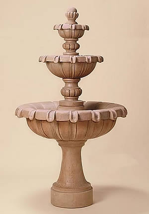 Chateau 3-Tiered Fountain