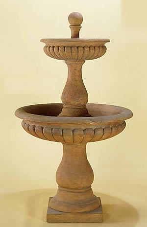 Dorica 2-Tiered Fountain
