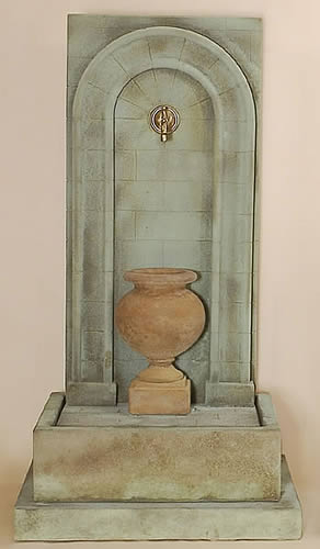 Etruria Urn Wall Fountain for Water Spout