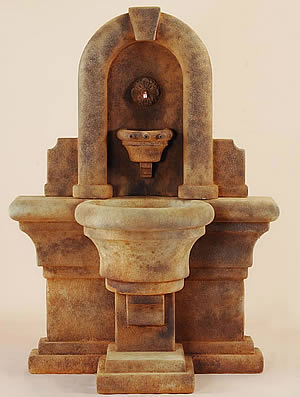 Etruria Wall Fountain