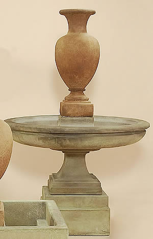 Etruscan Urn Short Fountain
