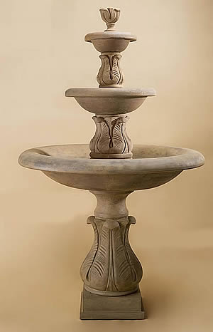 Folium 3-Tiered Fountain Short Spacers