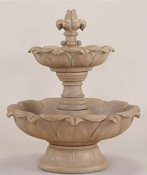Short Gardenia 2-Tiered Fountain