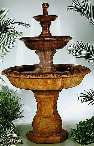 Grande Barrington Designer Fountain