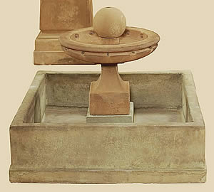 Hampton 1-Tiered Fountain