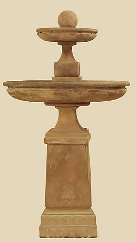 Tall Hampton 2-Tiered Fountain
