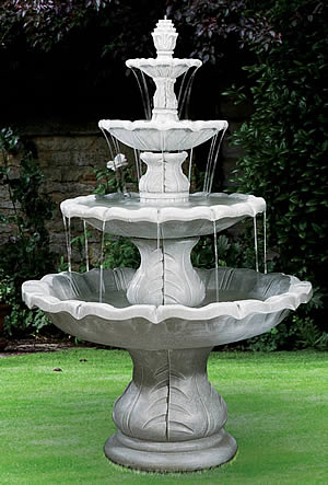 PARTS FOR 4-Tiered Classical Finial Fountain