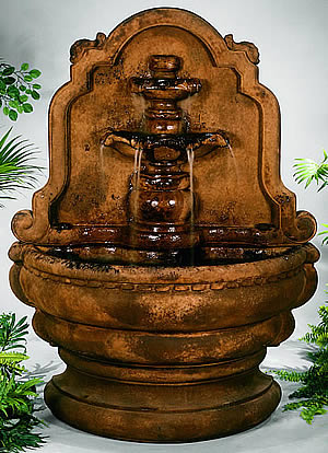 Grand Tiered-Relief Lavabo Fountain