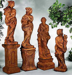 Italian Four Seasons Statuary