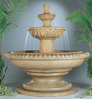 Palazzo Fluted Fountain