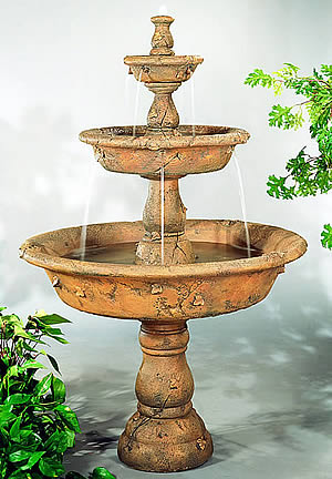 Triple Tazza Tiered Outdoor Water