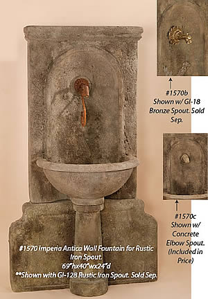 Imperia Antica Fountain for Spout