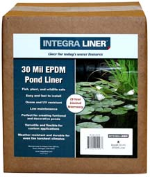 Integra Pond Liner: 15 Foot Wide X Length Desired