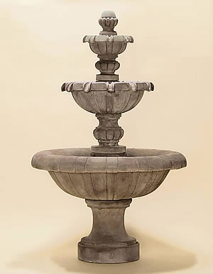 Jardin 3-Tiered Fountain SHORT
