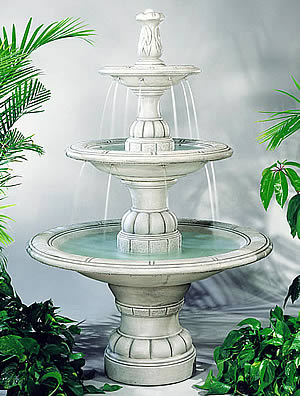 Contemporary Tiered Fountain