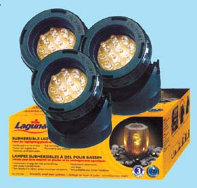 PowerGlo Mini LED Submersible Lights