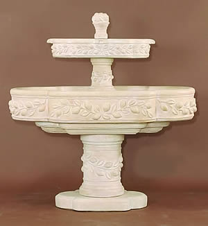 Limoni Romani 2-Tiered Fountain