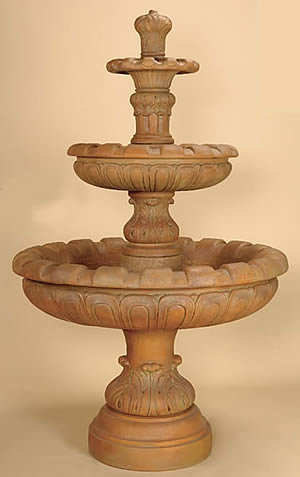 Louis XV 3-Tiered Fountain