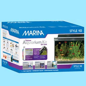 10 Gallon - Marina Style Deluxe Aquarium Kit