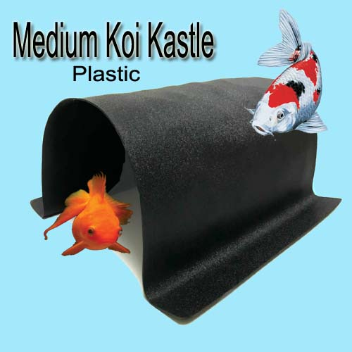 Medium Koi Kastle - Plastic