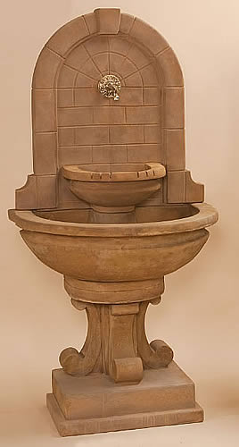 Montefalco Wall Fountain for Spout