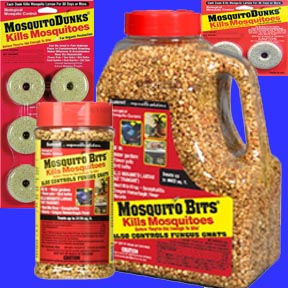 Kills Mosquitoes - Mosquito Dunks® or Bits®