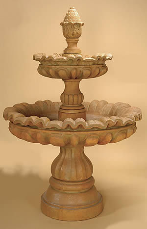 Murano 2-Tiered Fountain