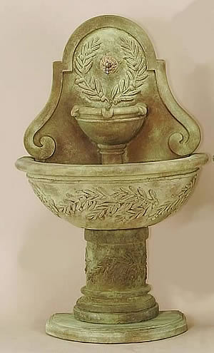 Oliva Wall Fountain For Spout