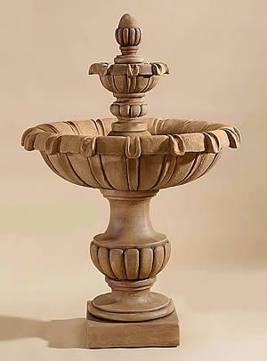 Petite Chateau 2-Tiered Fountain